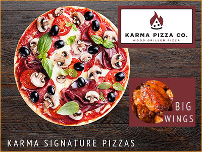 karma pizza in newport open til 2am