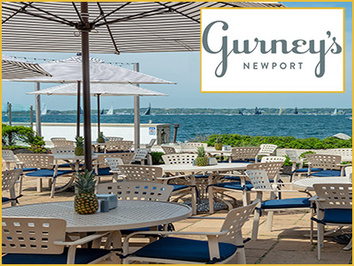gurney's al fresco dining newport bridge views