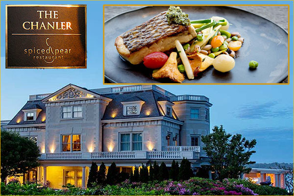 spiced pear restaurant at the chanler hotel newport ri