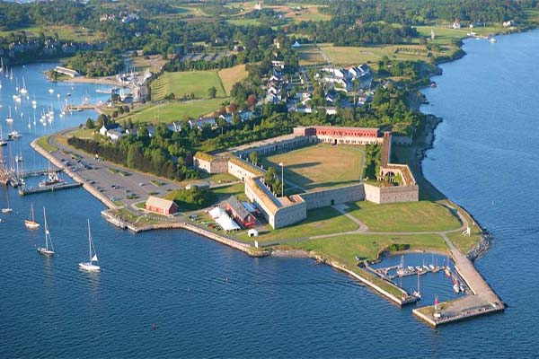 fort adams state park in newport ri home of the jazz and folk festivals