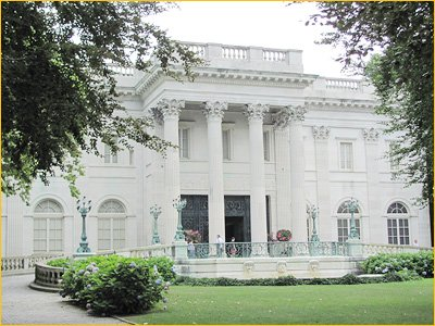 marble house is perhaps newports most famous mansion