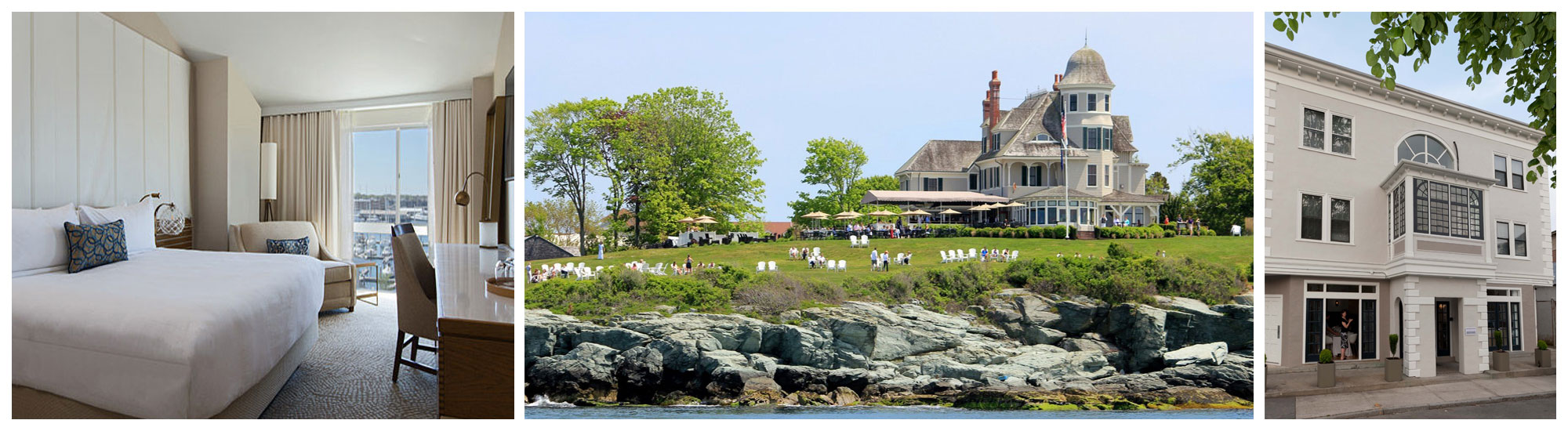 best hotels and lodging in Newport RI