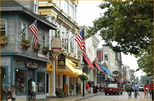newport is a colonial city best explored on foot