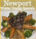 dining specials in newport all winter long