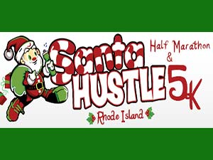 santa hustle 5k and half marathon road race
