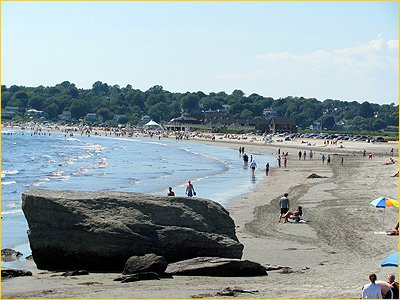 eastons or 1st beach on memorial boulevard in newport ri