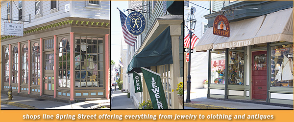 Newport clothing store