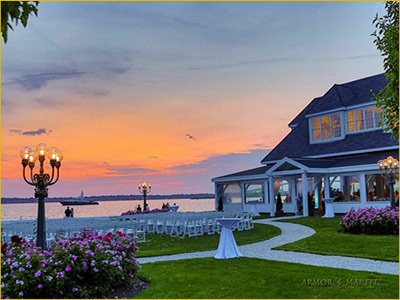 belle mer weddings venue on goat island