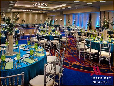 newport marriott wedding receptions downtown newport ri