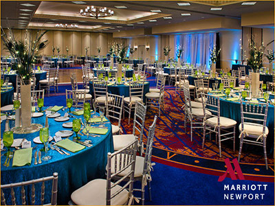 Newport Marriott Wedding Receptions Downtown Ri Catering