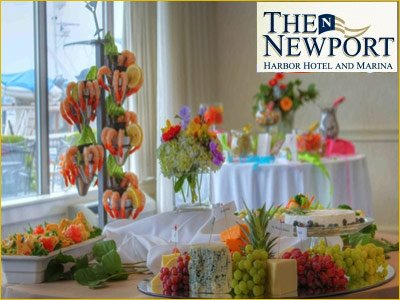 newport harbor hotel and marina wedding rehearsal dinners and post reception lunches